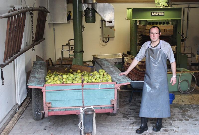 äpfel Mosten Lassen